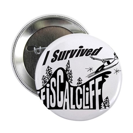 """Fiscal Cliff 2.25"""" Button"""