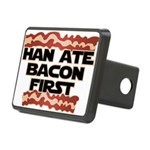 Han Ate Bacon First Rectangular Hitch Cover