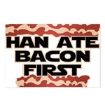 Han Ate Bacon First Postcards (Package of 8)