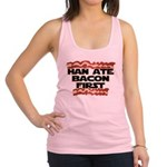 Han Ate Bacon First Racerback Tank Top