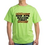 Han Ate Bacon First Green T-Shirt