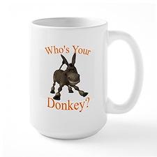 Donkey - wide Mugs