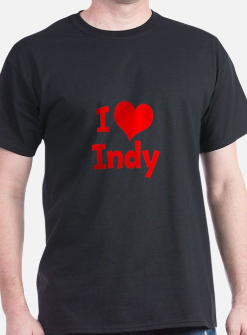 I Heart Indy red T-Shirt