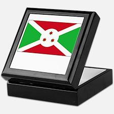 Burundi Flag Picture Keepsake Box