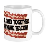 Together We Can Have Bacon Mug