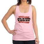 Together We Can Have Bacon Racerback Tank Top
