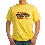 Together We Can Have Bacon Yellow T-Shirt