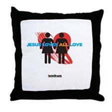 Tolerance Throw Pillow