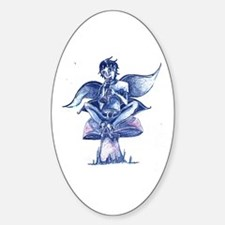 Fairy Song Oval Decal