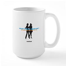What would Jesus say Mug
