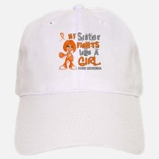 Licensed Fight Like a Girl 42.9 Leukemia Baseball Baseball Cap