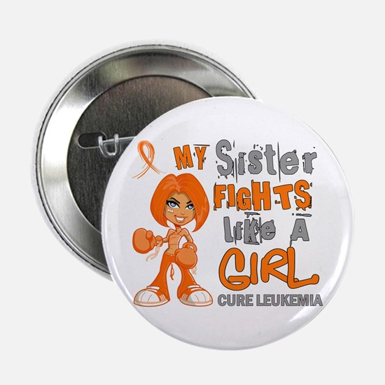 """Licensed Fight Like a Girl 42.9 Leuke 2.25"""" Button"""