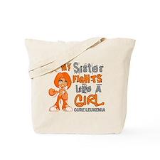 Fights Like a Girl 42.9 Leukemia Tote Bag