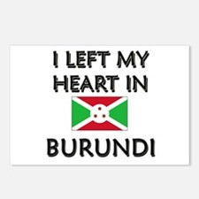 I Left My Heart In Burundi Postcards (Package of 8