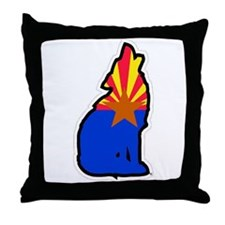 Zona Coyote Throw Pillow