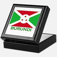 Burundi Flag Gear Keepsake Box