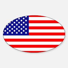 JewUSh American Oval Decal