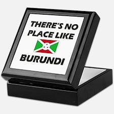 There Is No Place Like Burundi Keepsake Box