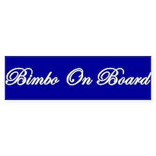 Bimbo On Board