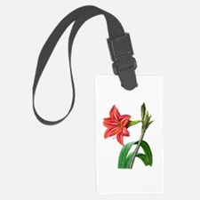 Pierre-Joseph Redoute Botanical Luggage Tag