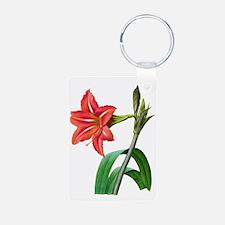 Pierre-Joseph Redoute Botanical Keychains
