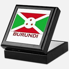 Burundi Flag Merchandise Keepsake Box