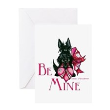 Scottish Terrier Valentine Greeting Card