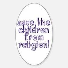 Save the Children Oval Decal