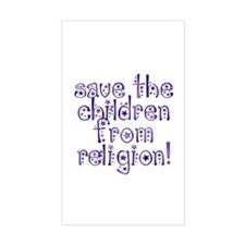 Save the Children Rectangle Decal