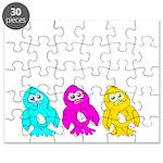CMY Penguins Puzzle