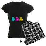 CMY Penguins Women's Dark Pajamas