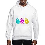 CMY Penguins Hooded Sweatshirt