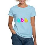 CMY Penguins Women's Light T-Shirt
