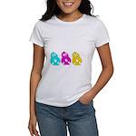 CMY Penguins Women's T-Shirt