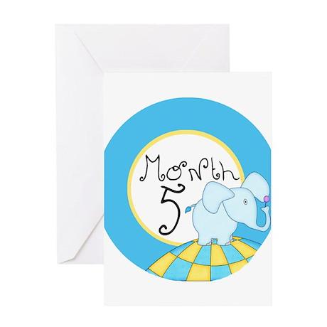 Dr Seuss Inspired 5 Months Unisex Baby Milestone G