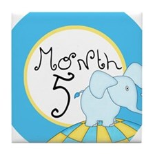 Dr Seuss Inspired 5 Months Unisex Baby Milestone T