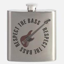 Respect the bass Flask