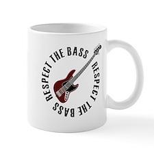 Respect the bass Small Mug