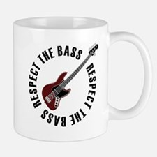 Respect the bass Small Small Mug