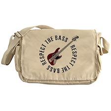Respect the bass Messenger Bag