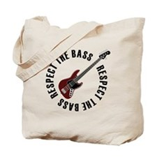 Respect the bass Tote Bag