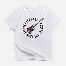 Respect the bass Infant T-Shirt