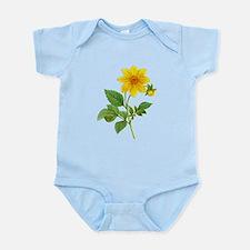 Pierre-Joseph Redoute Botanical Infant Bodysuit