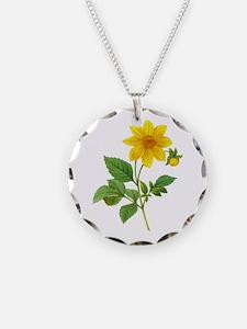 Pierre-Joseph Redoute Botanical Necklace