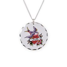 Tattoo heart daddy Necklace