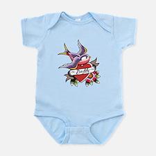 Tattoo heart daddy Infant Bodysuit