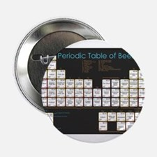 """Periodic Table of Beer 2.25"""" Button"""