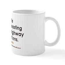 """Democritus Life w/o Feasting"" Mug"