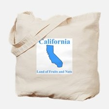 California Land of Fruits and Nuts Tote Bag