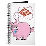Pigs Love Bacon Journal